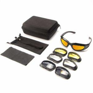 Reitbrille Nachtsichtgläser Brille Radfahren Sonnenbrillen Wechselbrillen Bequeme Entspiegelungsbrille Tragbare Brillen Sichern Polarisierte Brille