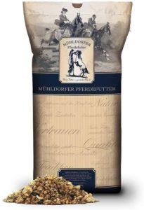 Mühldorfer Senior, 20 kg, Vollkornmüsli, Futter für ältere Pferde, leicht verdaulich, ohne Pellets, haferfrei, erhöhter Getreideaufschluss